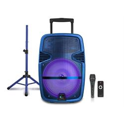 "15""BT SPEAKER W/TRIPOD AND MIC 15-RPKG Image"